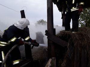 У Кропивницькому загорівся дачний будинок