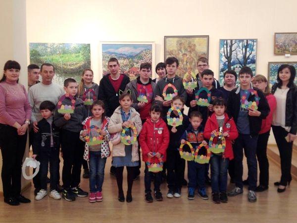 Вихованці спецшколи відвідали художній музей (ФОТО)