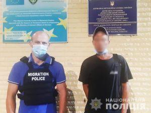 У Кропивницькому виявили 38-річного раніше судимого іноземця, який нелегально перебував на території країни