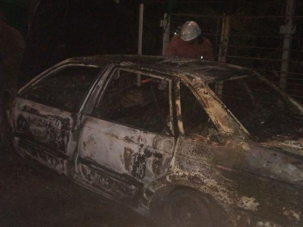 Кіровоградська область: У Світловодському районі рятувальники загасили Volkswagen