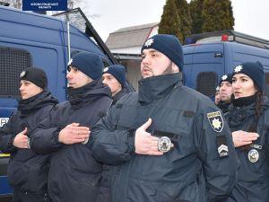 Кропивницькі патрульні отримали чергові поліцейські звання (ФОТО)