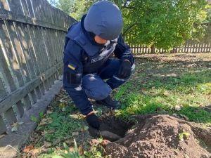 Кіровоградщина: У Глодосах на городі знайшли два снаряди