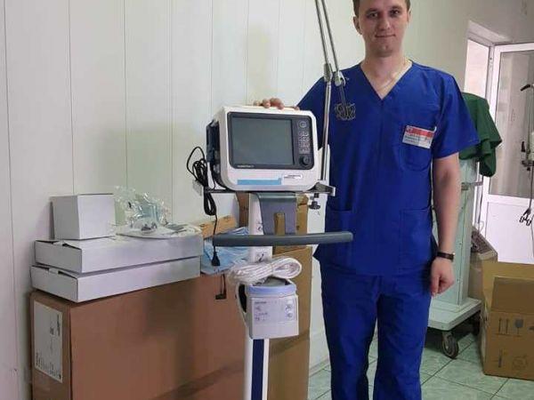 ПриватБанк передав Одеській обласній дитячій лікарні апарати штучної вентиляції легенів