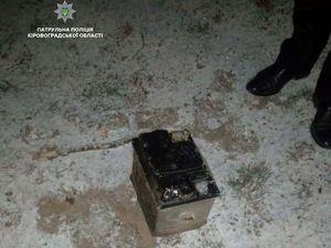 На Балашівці патрульний попередив викрадання акумуляторів (ФОТО)
