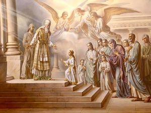 Православна Церква молитвослівно відзначає «Введення в храм Пресвятої Богородиці»
