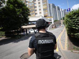 Стрілянина у житловому будинку Києва