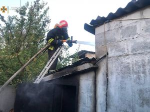 Кіровоградщина: У Новгородці зайнявся приватний будинок