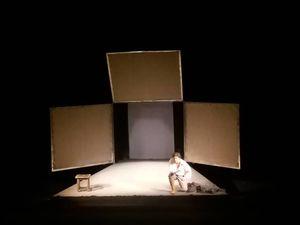 """""""Щастя - момент"""": у Кропивницькому пройшла моновистава Євгена Нищука за твором  Винниченка"""