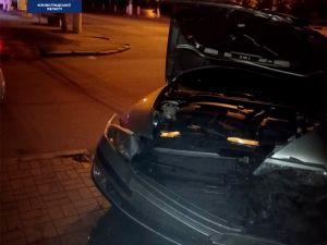 У центрі Кропивницького зіштовхнулися автівки
