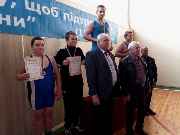 Кропивницькі борці здобули перемогу на турнірі пам'яті Івана Піддубного