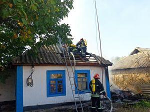 На Кіровоградщині 80-річну жінку з опіками доправили до лікарні