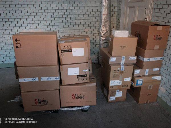 ПриватБанк передав Чернівецьким лікарням медичне обладнання  на 5 мільйонів