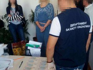 Очільницю відділіу Кіровоградської ОДА  впіймали на хабарі