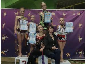 Гімнастки з Кропивницького гідно представили місто на відкритому турнірі