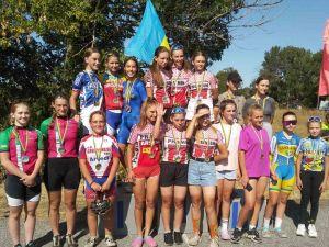 Кропивницькі велосипедисти вибороли 16 медалей на чемпіонаті України