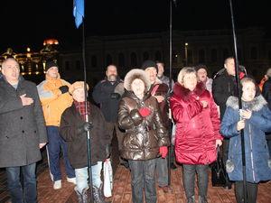 Кропивницькі націоналісти вшанували пам'ять Героїв Небесної сотні