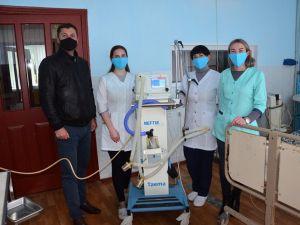 Кіровоградщина: Міська рада оплатила ремонт апарату штучної вентиляції легень для райлікарні