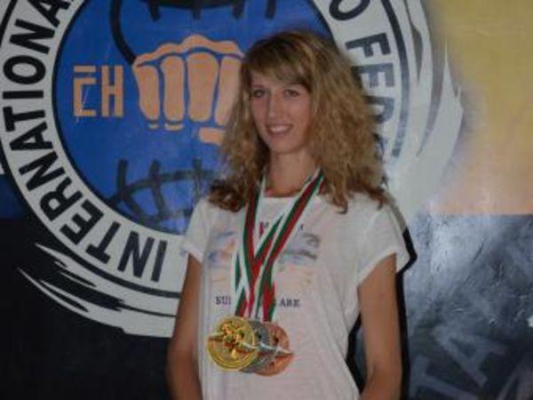 Чемпионка мира по тхеквондо, кировоградка Татьяна Тетеревятникова: «Берем упорством»