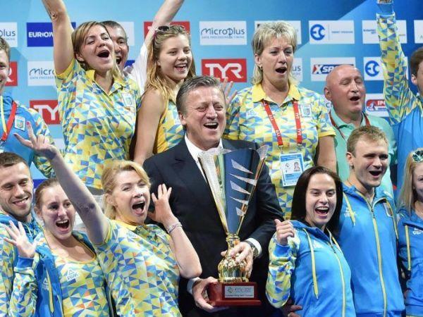 Україна – друга в командному заліку на домашньому чемпіонаті Європи зі стрибків у воду