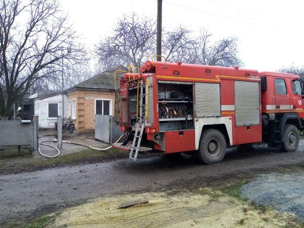 На Знам'янщині під час пожежі загинула літня жінка (ФОТО)