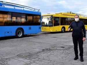 У Кропивницькому до селища Нового рушили нові тролейбуси