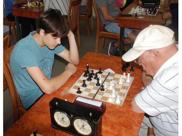 У Кропивницькому змагалися кращі шахісти міста