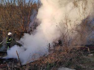 Кропивницький: На дачах Пісецького під час пожежі травмувався 50-річний чоловік