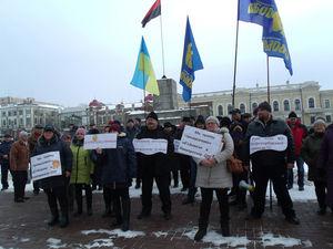 У Кропивницькому обурені селяни увірвалися в облдержадміністрацію (ВІДЕО)