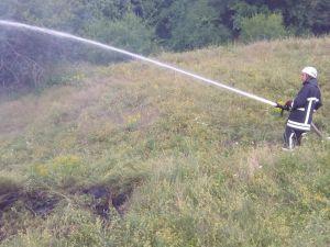 Кіровоградщина: рятувальники загасили дві пожежі сухої трави