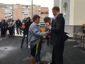 У Кропивницькому вручили ордери на квартири у новобудові