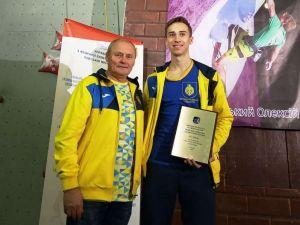 Кропивницькі скелелази здобули медалі на Кубку України