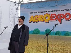 AgroExpo-2019:  На Покровському ярмарку Мартин Боруля вітає гостей  (ФОТО)