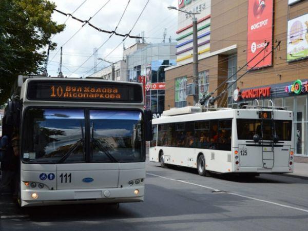 Кропивницький: У тролейбусі № 10 сталася бійка через маску