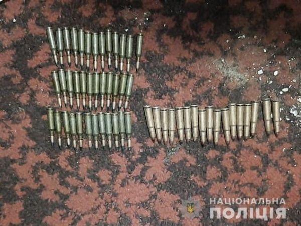 У Кропивницькому правоохоронці знайли у місцевого жителя боєприпаси