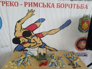 У Кропивницькому пройшов чемпіонат з греко-римської боротьби пам'яті Миколи Бондаря