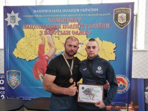 Дільничний із Кіровоградщини виборов «бронзу» на Чемпіонаті Національної поліції з самбо