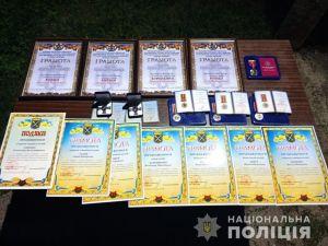 Поліцейські Кіровоградщини отримали заохочення за несення служби на сході країни