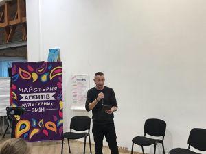 «Не треба чекати на війну, аби відроджувати культуру»: Сергій Жадан поспілкувався з містянами (ФОТО, ВІДЕО)
