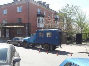 """У Кропивницькому хом'ячок став причиною ДТП. «Мерседес» """"покотився"""" в вантажівку ГАЗ (ФОТО)"""