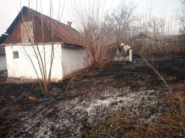 Кіровоградська область: Рятувальники загасили дві пожежі у екосистемі