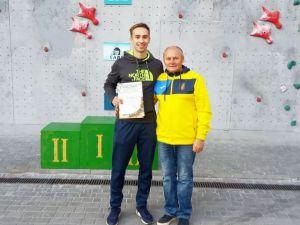 """Кропивницький скелелаз здобув """"срібло"""" на Кубку України"""