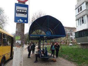 У міській раді наказали відремонтувати усі зупинки до Дня міста