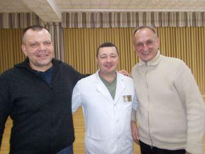 Геннадій Сябренко:  Нас не покинули ні пацієнти, ні громадськість