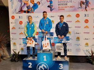 Кропивницький скелелаз Ярослав Ткач — срібний призер Кубка Європи