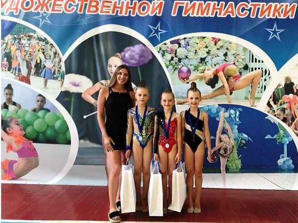 """Юні гімнастки з Кропивницького здобули """"золото"""" на Всеукраїнському турнірі"""