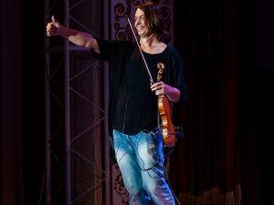 Скрипаль Святослав Кондратів привітав всіх з Міжнародним Днем Музики!
