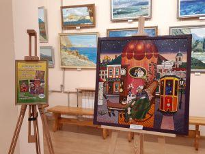Кропивницький: У художньому музеї презентували експозицію Андрія Ліпатова