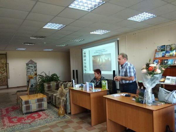 У Кропивницькому літературне об'єднання «Парус» представило нові твори