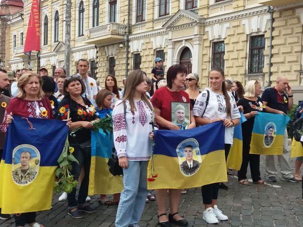 Кропивницька громада вшанувала загиблих у Московсько-українській війні (ФОТО)
