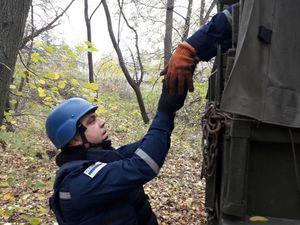 У дендропарку в Онуфріївці знайшли боєприпаси часів Другої світової війни